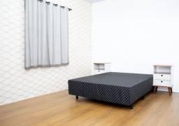 Liquidação de camas box, cabeceiras, cama baú, bicama e muito mais!