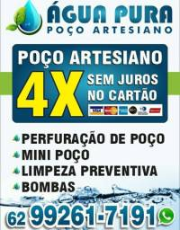 Título do anúncio: Poço artesiano e mini poço artesiano R$2800.00