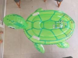 Boia Inflável Infantil Tartaruga Piscina Praia - Gigante - Usado