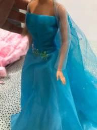 Título do anúncio: Vestido Elsa de Frozen