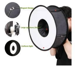 Softbox  para Flash - 45cm Dobrável Speedlight