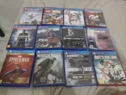 Título do anúncio: Playstation 4 jogos