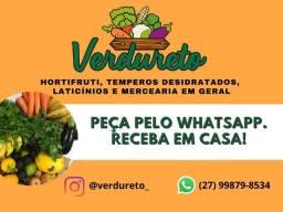 Frutas, Verdura, Legumes, Temperos, Laticínios e Mercearia em Geral