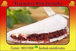 Tapioca Recheada para Festas e Eventos