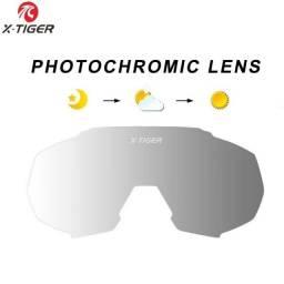 Lente Fotocromática Óculos Premium Ciclismo X-tiger