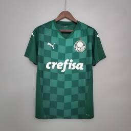 Camisa Palmeiras Lançamento 2021 Lucas Limas Weverton Rony Dudu Felipe Melo