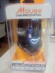 Mouse gamer wireless optical