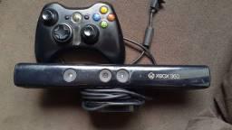 Título do anúncio: Controle e Kinect xbox 360
