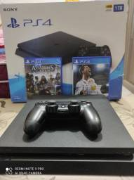 PS4 1TB completo