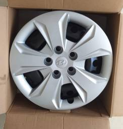 4 Rodas com calotas Hyundai original Creta aro 16 novas