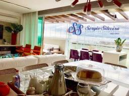 Aquiraz Riviera Beach Place Belíssima cobertura com 4 suítes projetada e vista mar!