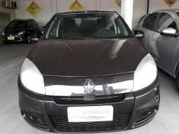 Renault Sandero Authentic 1.0 Preto - 2013