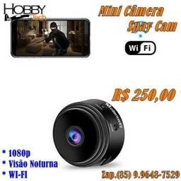 Mini Câmera Spy Cam 1080p Wi-fi - Nova