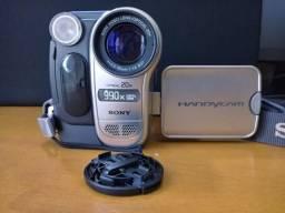 Filmadora Sony CCD-TRV138 Hi8 Handycam Camcorder w/ 20x Optical Zoom - Usada Ótimo estado