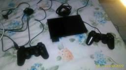 Playstation 2 da marca sony desbloqueado