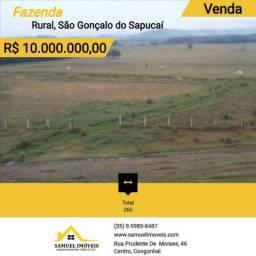 Fazenda de 260 alqueires em São Gonçalo do Sapucaí - 941