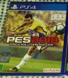 PES 2018 PS4 Novo Lacrado
