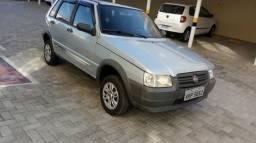 Fiat uno way econ.1.0 4 portas prata ano 2010 $14.400.00 whatz 995268600 - 2010
