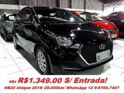 Hyundai HB20 Unique/ Unico Dono - 2019