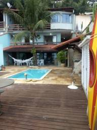 Silvana Costa Imóveis -Lindíssima casa a beira mar da Praia de Junqueira-Mangaratiba RJ