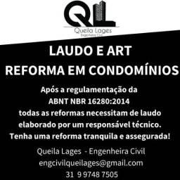 Laudo e ART - Reformas em Condomínios