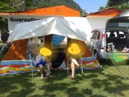 Barraca de armação camping