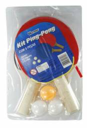 KIT PING PONG 5 PÇS - WESTERN<br><br>