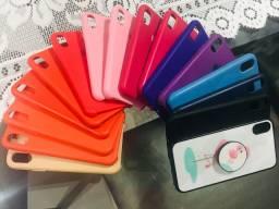 Capinhas de silicone Iphone x e xs