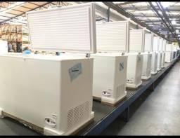 Freezer horizontal 503 litros tampa cega - JM equipamentos