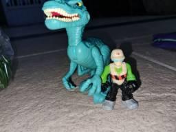 Jurassic Park Dinos, Hulk Kapow e Casa Super Homem Imaginext