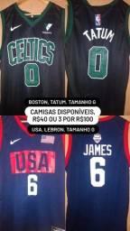 Título do anúncio: Regatas NBA
