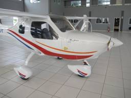 Aeronave ultraleve avançado Jabiru modelo J-170 estado de nova