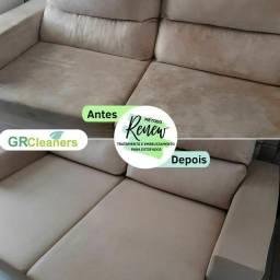 Higienização de Estofados - Sofá, Cadeiras, Colchões, etc.