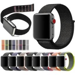 Pulseira Nylon Loop Compatível Apple Watch 38/40 42/44mm