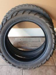 Título do anúncio: Par de pneu Metzeler Karoo 90/90-21 150/70-18