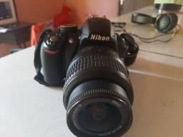 Vendo ou troca uma camera nikon d3100 profissional