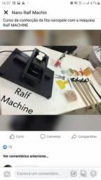 Máquina para confecção de mega hair