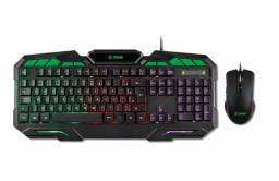 Kit Teclado + Mouse Gamer X Zone GTC-01 - NOVO - Loja Física