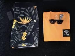 Conjuntos (bermudas/camisas