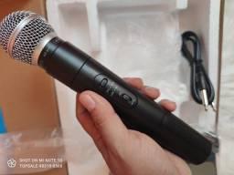 *Microfone Sem FioProfissional*<br>Marca: knup