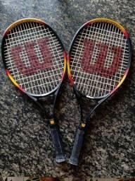 Raquetes de Tênis Piti Sampras (Leia Anúncio)