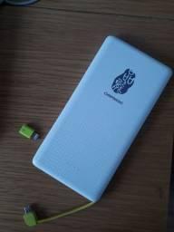 Carregador de celular portátil 4 cargas