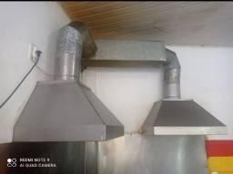 Exaustor de inox industrial