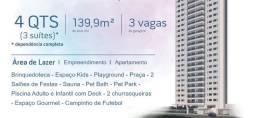 JL- Em Setúbal, Breve Lançamento, 4 suítes, 3 vagas, Edf. Gloria Tinoco