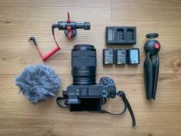 Câmera Sony Alpha a6400 + Acessórios