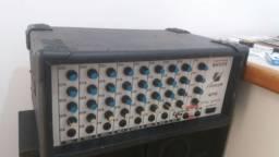 Cabeçote (mesa amplificada 8 canais