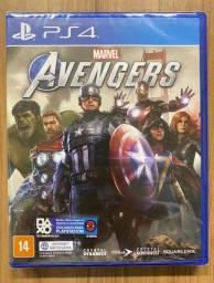Marvel's Avengers Ps4 Mídia Física Novo Lacrado Pt-br