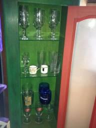 Armário Multiuso, cristaleira, Bar