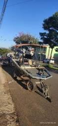 Barco Lancha Comando distancia Partida Trim Motor 60 hp top