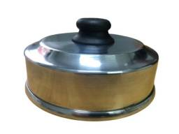Abafador de Hambúrguer 14cm Aluminio * Profissional *